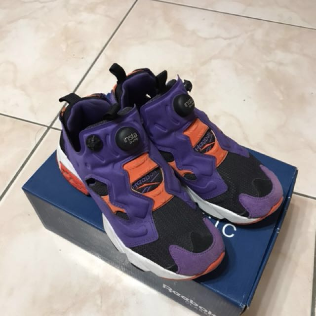 Reebok Instapump fury og/紫橘