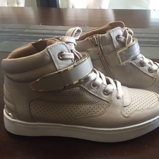 9a8e912962 Repriced! Minkley Aldo Hi-Skate Sneakers, Women's Fashion, Shoes on  Carousell