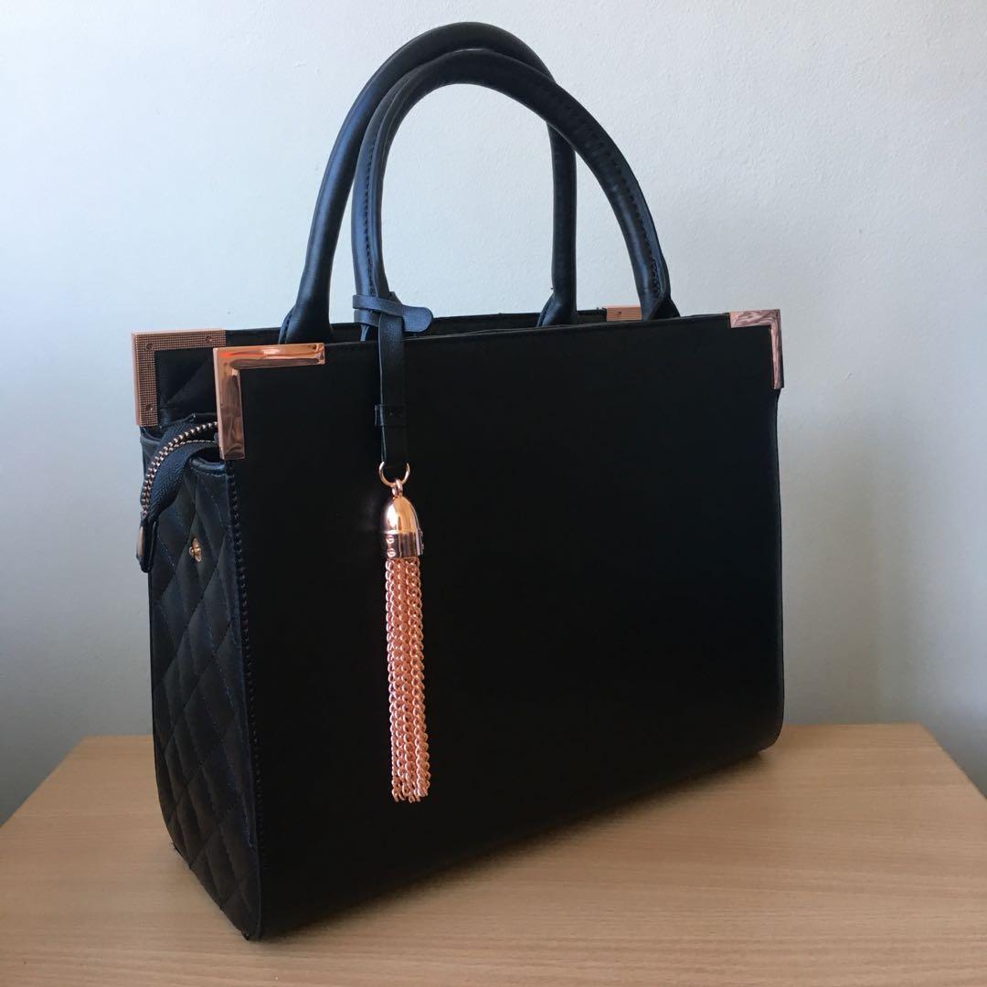 Rose Gold Tassel Handbag
