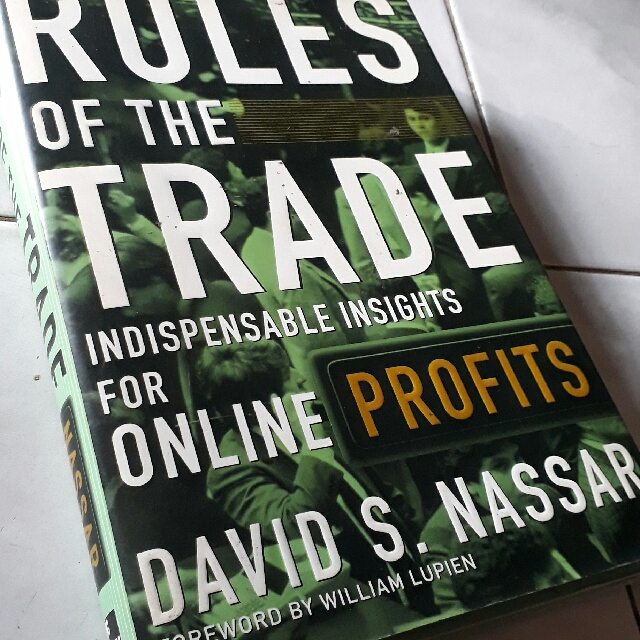 Rules Of The Trade By David S. Nassar - Hard Bound