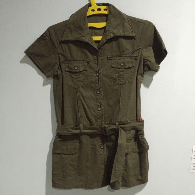 Seventeen army top dress