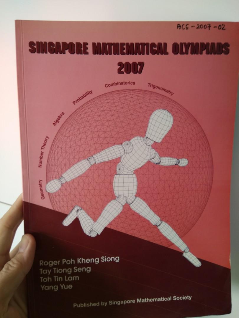 Singapore math Olympiad book