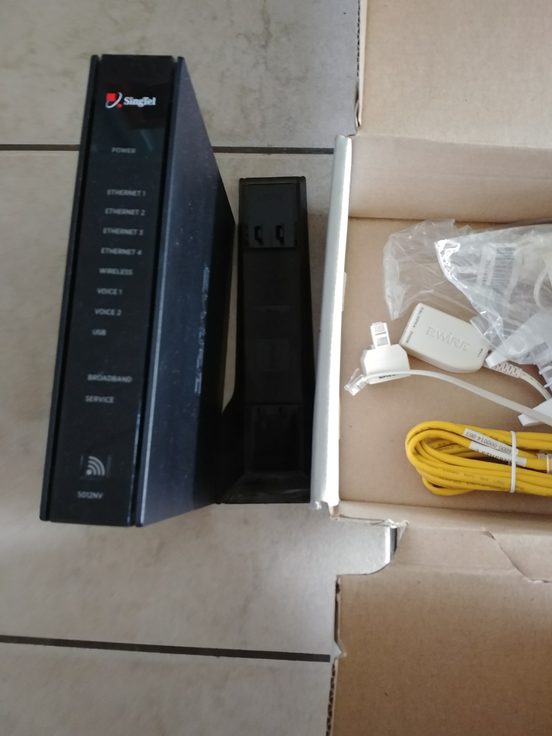 Singtel 2wire router, Electronics, Computer Parts & Accessories on ...