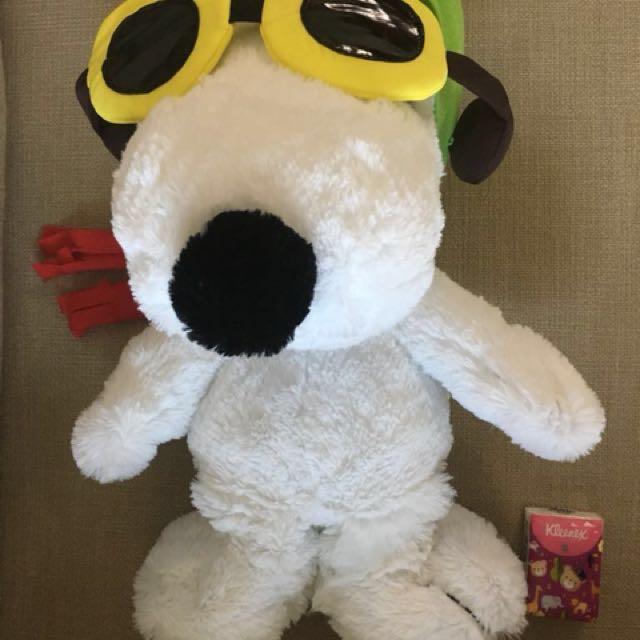 Snoopy 大毛公仔
