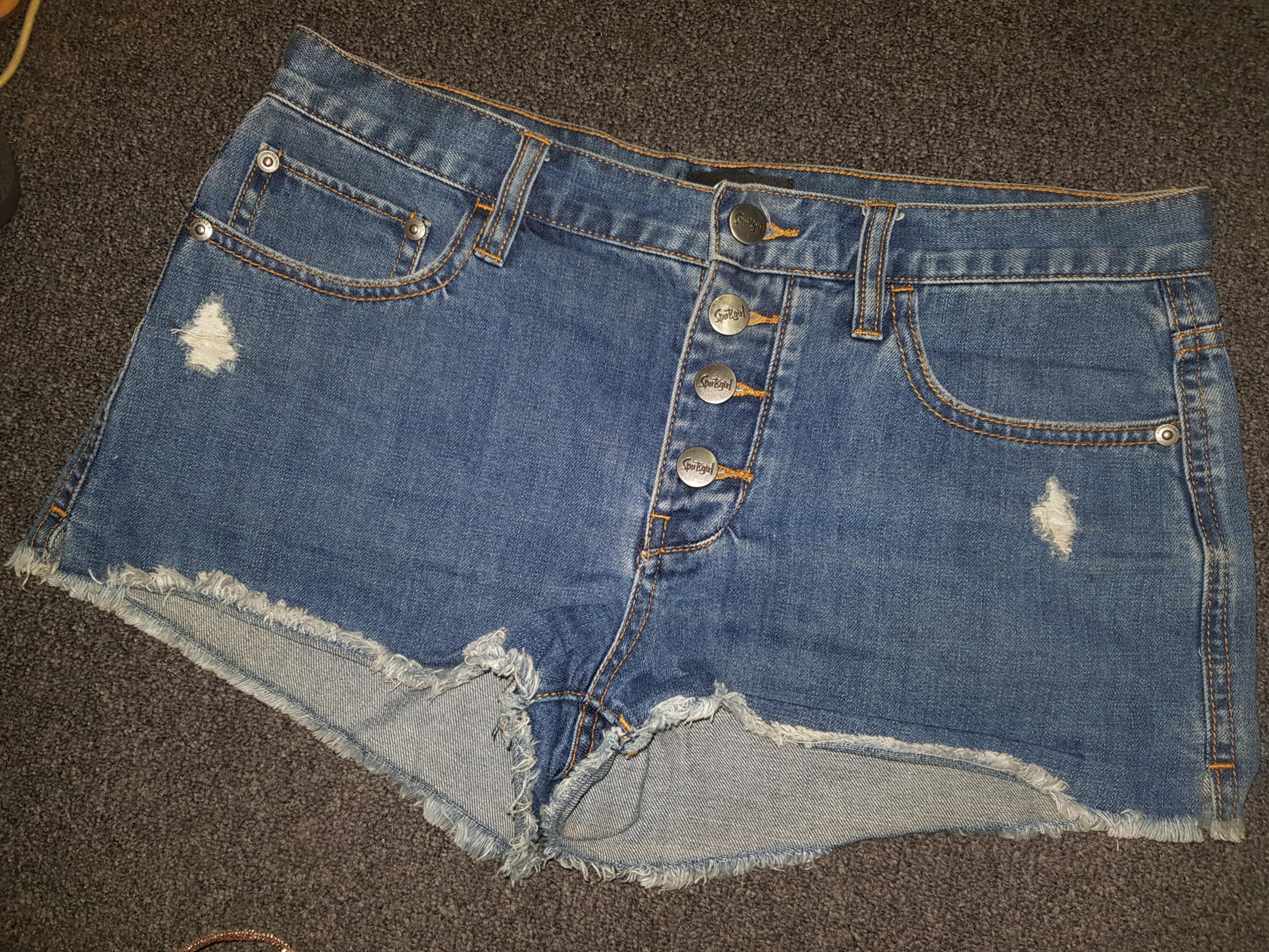 Sportsgirl Denim Shorts Size 10