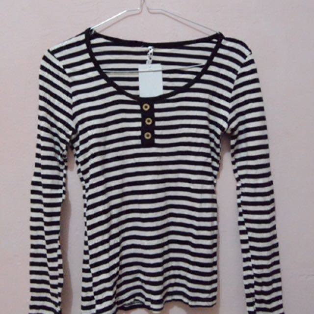 Stripes Shirt with Buttons