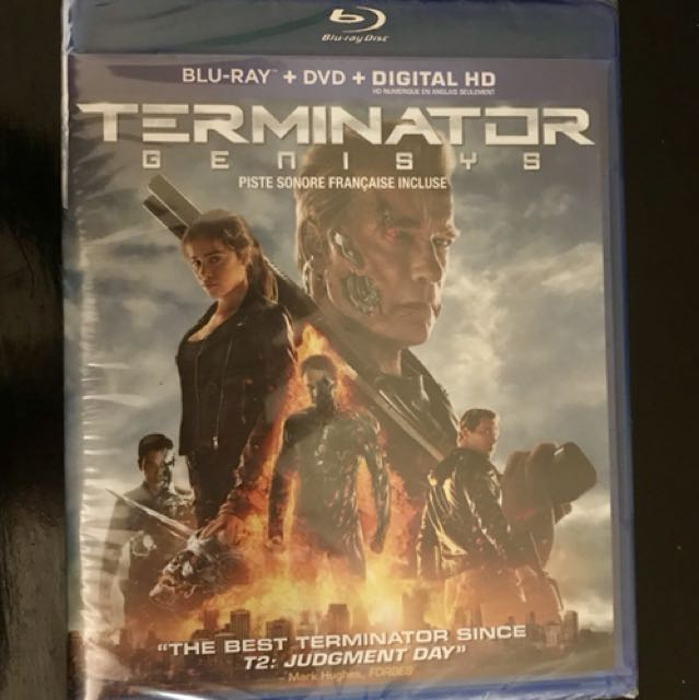 Terminator Genisys Blu-ray new sealed