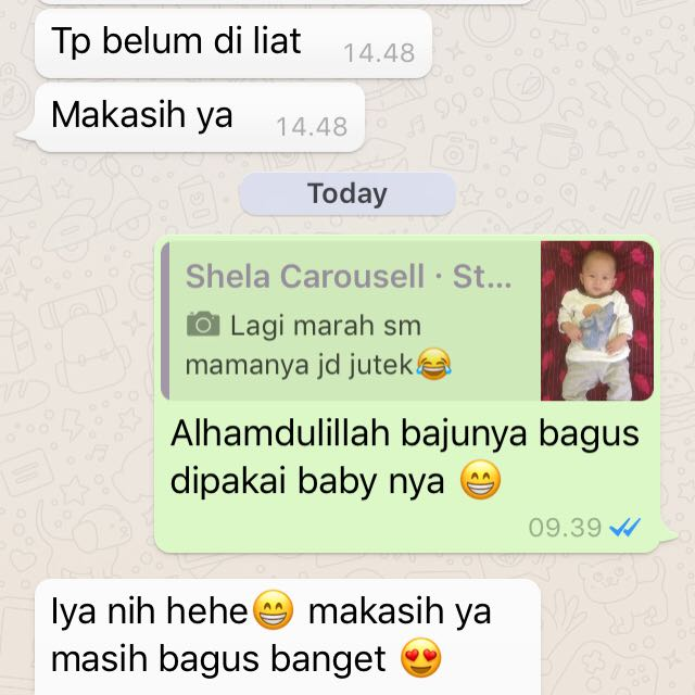 Testimoni customer 🙏🏻thank you for shopping