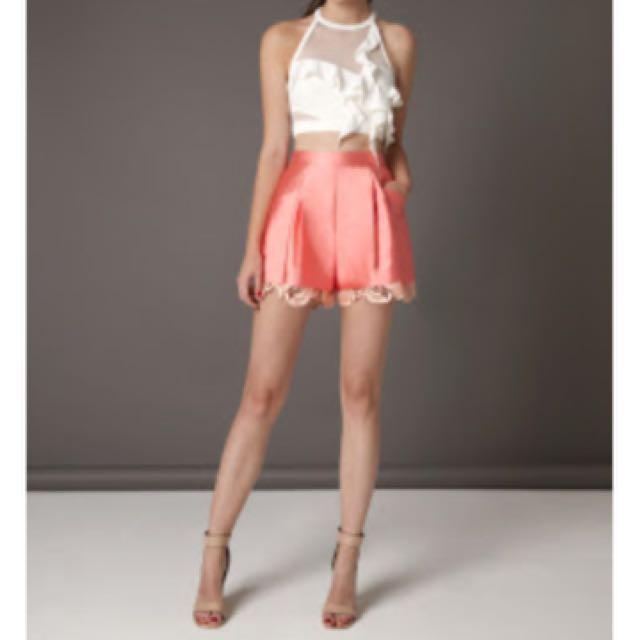 Three Floor Rethink Pink Shorts - UK size 10