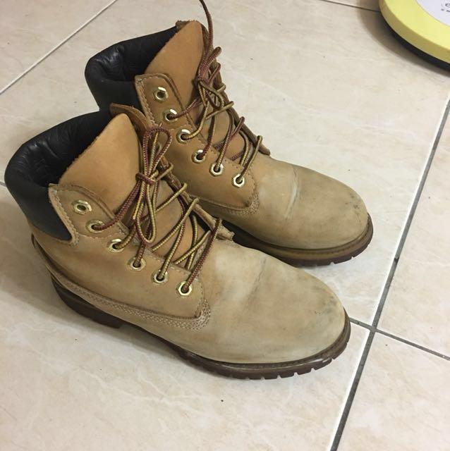 Timberland 6w 登山靴 黃靴
