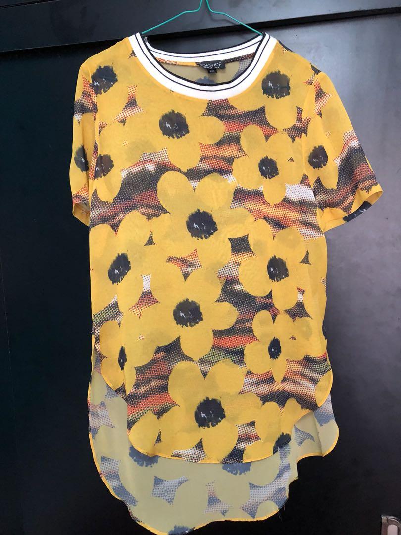 Topshop Jersey Shirt