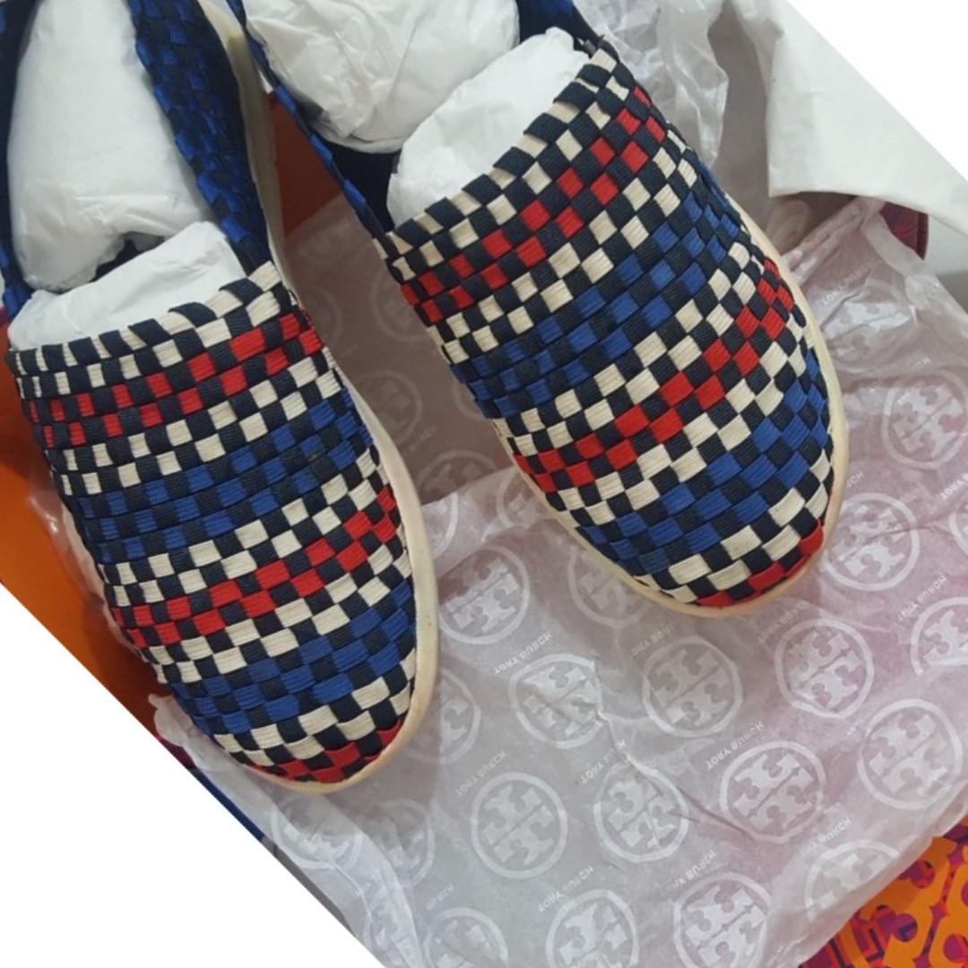 Tory Burch Woven Shoes