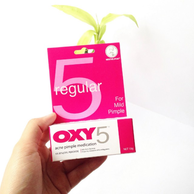 Used Oxy 5 10g