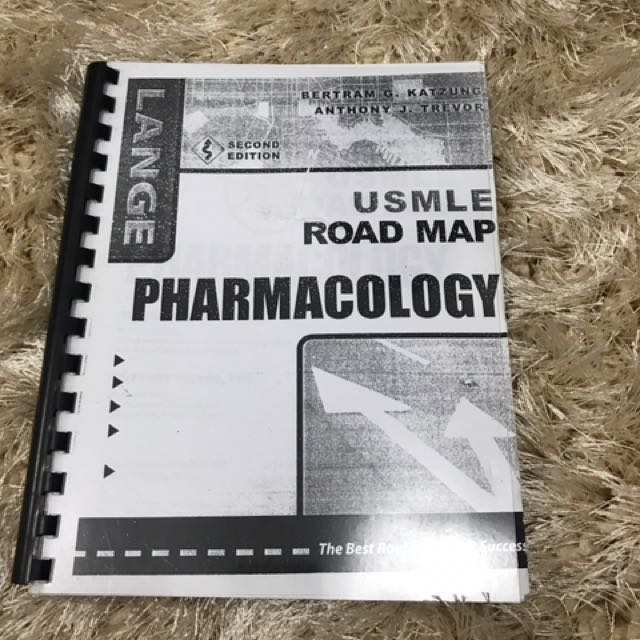 Usmle Road Map Pharmacology Textbooks On Carousell