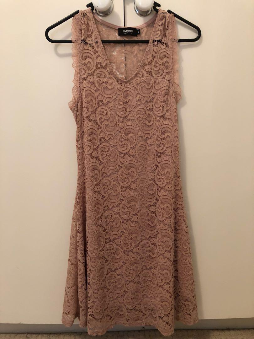 VALLEY GIRL PINK DRESS