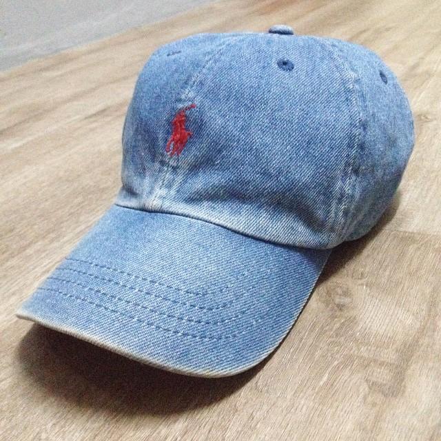 Vintage Polo Ralph Lauren Denim Hat e8e88a5fc1c