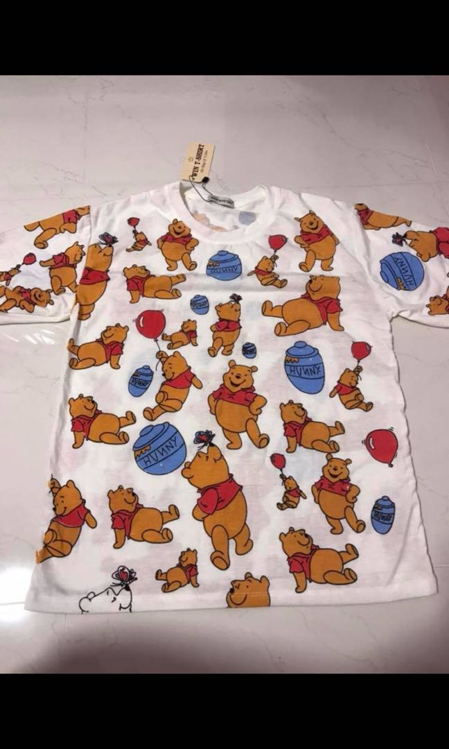 5639a35e8e73 Winnie The Pooh T-shirt, Women's Fashion, Clothes, Tops on Carousell