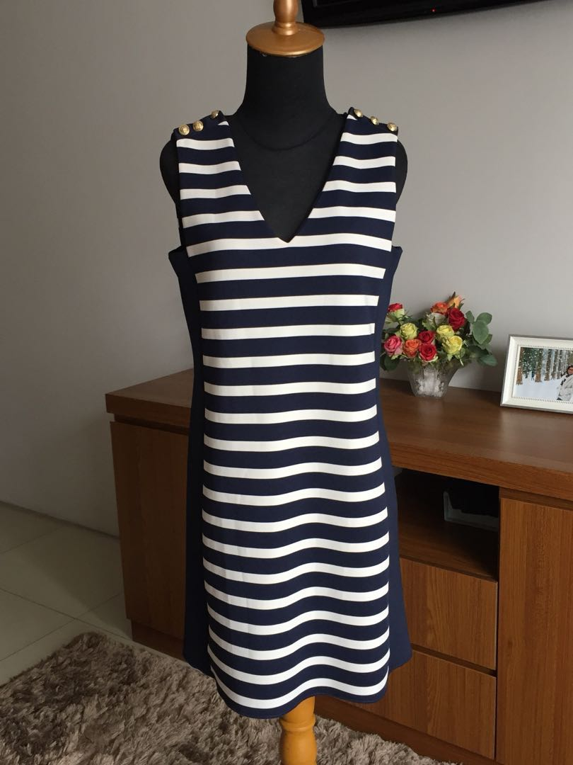 ZARA stripes mini dress