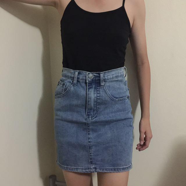 Ziggy Denim Skirt
