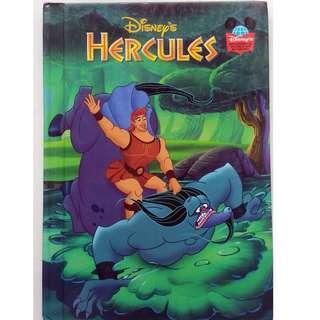 Preloved Disney Story Book - Hercules