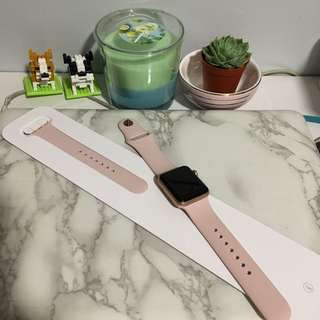 Original Apple Pink Sand Sport Band (38mm)