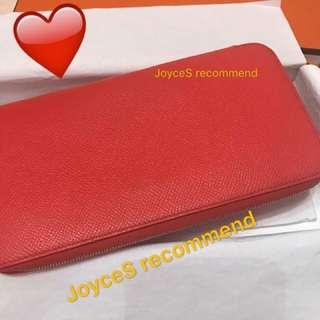 Hermes Silk-in wallet Rose Jaipur pink 最實用銀包
