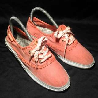 COLUMBIA Vulc N Vent Lace Canvas Tracking Sneakers