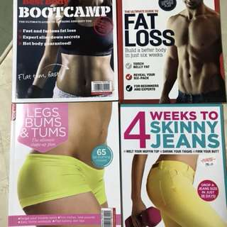 Fitness/workout magazine