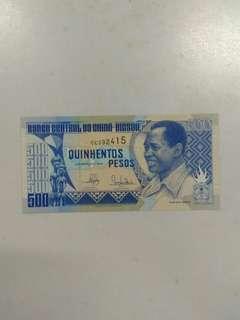 Guinea Bissau 500 pesos 1990 issue