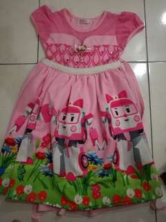 Robot car poli dress