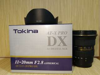 Tokina AT-X 11-20mm F2.8 PRO DX (for Canon) + Nisi Pro UNC UV 鏡