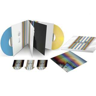 Air - Twentyears Coloured Vinyl Limited Edition Box Set (3CDs+2LPs)