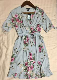 Mid length maternity dress