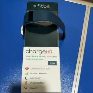 Fitbit Charge HR workout watch and tracker (Navy)