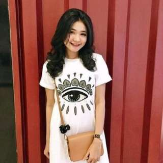 CS7025 EYE DRESS WHITE,,Matt spandek soft, LD-95 PJ-85 fit to L, berat 0.20kg