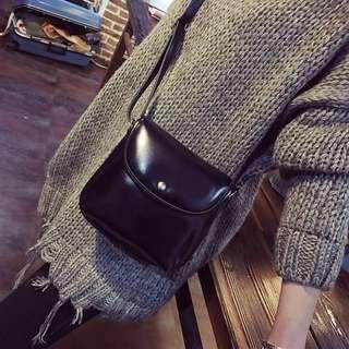 [PO] ulzzang pu mini crossbody bag