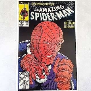 Marvel Comics Amazing Spider-Man 307 Near Mint Condition Todd McFarlane Art and Cover