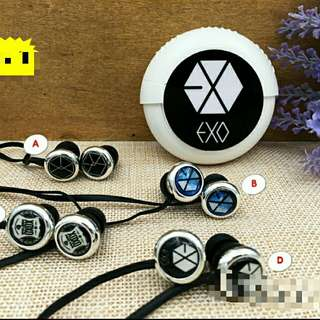 [READYSTOCK] EXO EARPHONE