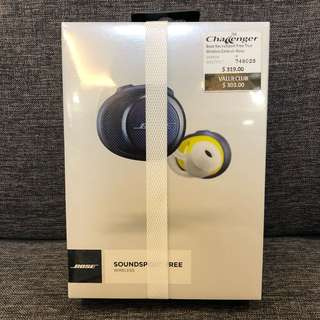Bose SoundSport Free True Wireless Earbuds Navy 【price fixed 】