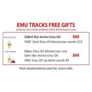 Emu Oil & Emu Oil Moisturiser