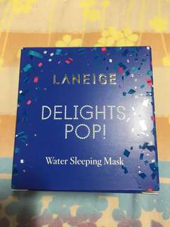 Laneige Delight Pop! Water Sleeping Mask 70ml