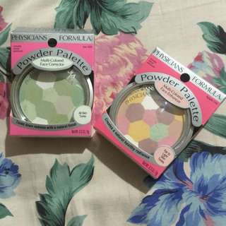 Color corrector powder