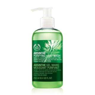 BN The Body Shop Absinthe Purifying Hand Wash