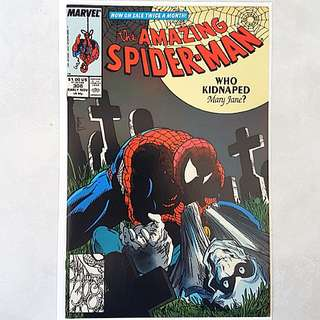 Marvel Comics Amazing Spider-Man 308 Near Mint Condition Todd McFarlane Art and Cover