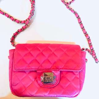 PINK Mini Strap Bag