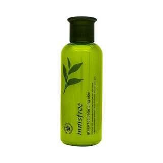 Innisfree green tea balancing skin 200ml