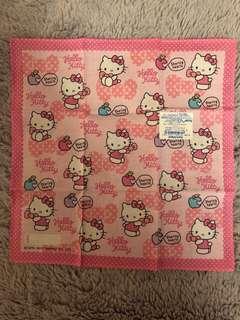 Hello Kitty 27.5cm x 27.5cm 正方形紗巾
