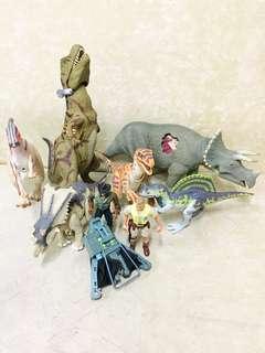 Jurassic park action figure