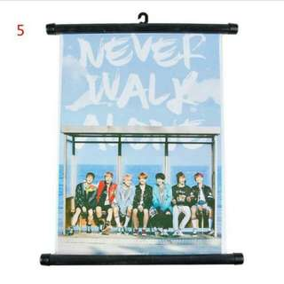 BTS Hanging Poster Scroll