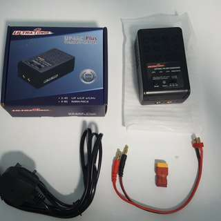 UP4AC Plus Compact Charger inclusive of Female T plug - Male XT60 Adaptor